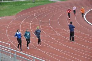 Warmup Run 2